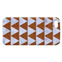 TRIANGLE2 WHITE MARBLE & RUSTED METAL Apple iPhone 5 Premium Hardshell Case View1