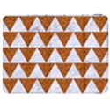 TRIANGLE2 WHITE MARBLE & RUSTED METAL Samsung Galaxy Tab 7  P1000 Flip Case View1