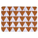 TRIANGLE2 WHITE MARBLE & RUSTED METAL Samsung Galaxy Tab 8.9  P7300 Flip Case View1