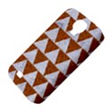 TRIANGLE2 WHITE MARBLE & RUSTED METAL Samsung Galaxy S4 Classic Hardshell Case (PC+Silicone) View4
