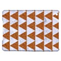 TRIANGLE2 WHITE MARBLE & RUSTED METAL iPad Air Hardshell Cases View1