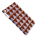 TRIANGLE2 WHITE MARBLE & RUSTED METAL iPad Air Hardshell Cases View5