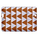 TRIANGLE2 WHITE MARBLE & RUSTED METAL Kindle Fire HDX Hardshell Case View1