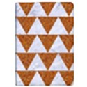 TRIANGLE2 WHITE MARBLE & RUSTED METAL iPad Mini 2 Flip Cases View1