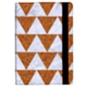 TRIANGLE2 WHITE MARBLE & RUSTED METAL iPad Mini 2 Flip Cases View2