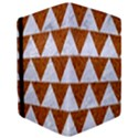 TRIANGLE2 WHITE MARBLE & RUSTED METAL iPad Mini 2 Flip Cases View3