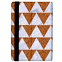 TRIANGLE2 WHITE MARBLE & RUSTED METAL iPad Mini 2 Flip Cases View4