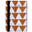 TRIANGLE2 WHITE MARBLE & RUSTED METAL iPad Air Flip View4