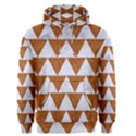TRIANGLE2 WHITE MARBLE & RUSTED METAL Men s Pullover Hoodie View1