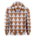 TRIANGLE2 WHITE MARBLE & RUSTED METAL Men s Zipper Hoodie View2