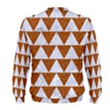 TRIANGLE2 WHITE MARBLE & RUSTED METAL Men s Sweatshirt View2