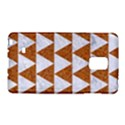 TRIANGLE2 WHITE MARBLE & RUSTED METAL Galaxy Note Edge View1