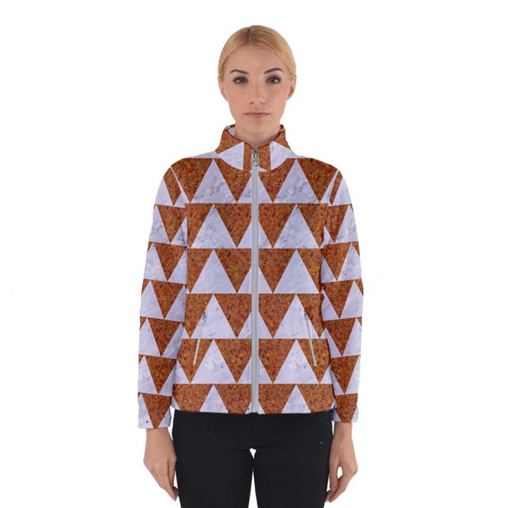 TRIANGLE2 WHITE MARBLE & RUSTED METAL Winterwear