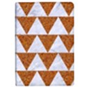 TRIANGLE2 WHITE MARBLE & RUSTED METAL Apple iPad Pro 12.9   Flip Case View1