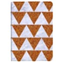 TRIANGLE2 WHITE MARBLE & RUSTED METAL Apple iPad Pro 9.7   Flip Case View1