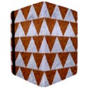 TRIANGLE2 WHITE MARBLE & RUSTED METAL Apple iPad Pro 9.7   Flip Case View3