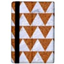 TRIANGLE2 WHITE MARBLE & RUSTED METAL Apple iPad Pro 9.7   Flip Case View4