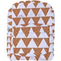TRIANGLE2 WHITE MARBLE & RUSTED METAL Full Print Backpack View1