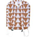TRIANGLE2 WHITE MARBLE & RUSTED METAL Full Print Backpack View2