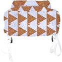 TRIANGLE2 WHITE MARBLE & RUSTED METAL Full Print Backpack View4