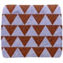 TRIANGLE2 WHITE MARBLE & RUSTED METAL Back Support Cushion View1