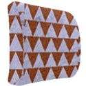 TRIANGLE2 WHITE MARBLE & RUSTED METAL Back Support Cushion View2