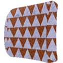 TRIANGLE2 WHITE MARBLE & RUSTED METAL Back Support Cushion View3