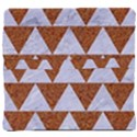 TRIANGLE2 WHITE MARBLE & RUSTED METAL Back Support Cushion View4