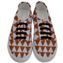 TRIANGLE2 WHITE MARBLE & RUSTED METAL Men s Classic Low Top Sneakers View1