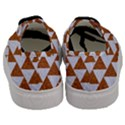 TRIANGLE2 WHITE MARBLE & RUSTED METAL Men s Classic Low Top Sneakers View4