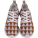 TRIANGLE2 WHITE MARBLE & RUSTED METAL Men s Lightweight Sports Shoes View1