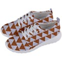 TRIANGLE2 WHITE MARBLE & RUSTED METAL Men s Lightweight Sports Shoes View2