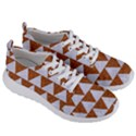 TRIANGLE2 WHITE MARBLE & RUSTED METAL Men s Lightweight Sports Shoes View3