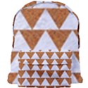 TRIANGLE2 WHITE MARBLE & RUSTED METAL Giant Full Print Backpack View1