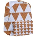 TRIANGLE2 WHITE MARBLE & RUSTED METAL Giant Full Print Backpack View3