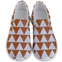 TRIANGLE2 WHITE MARBLE & RUSTED METAL Men s Lightweight Slip Ons View1