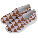 TRIANGLE2 WHITE MARBLE & RUSTED METAL Men s Lightweight Slip Ons View2