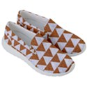 TRIANGLE2 WHITE MARBLE & RUSTED METAL Men s Lightweight Slip Ons View3
