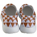 TRIANGLE2 WHITE MARBLE & RUSTED METAL Men s Lightweight Slip Ons View4