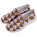 TRIANGLE2 WHITE MARBLE & RUSTED METAL Women s Lightweight Slip Ons View2