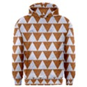 TRIANGLE2 WHITE MARBLE & RUSTED METAL Men s Overhead Hoodie View1