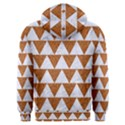 TRIANGLE2 WHITE MARBLE & RUSTED METAL Men s Overhead Hoodie View2