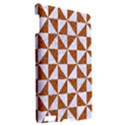 TRIANGLE1 WHITE MARBLE & RUSTED METAL Apple iPad 3/4 Hardshell Case View2