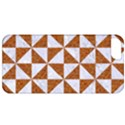 TRIANGLE1 WHITE MARBLE & RUSTED METAL Apple iPhone 5 Classic Hardshell Case View1