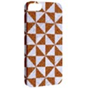 TRIANGLE1 WHITE MARBLE & RUSTED METAL Apple iPhone 5 Classic Hardshell Case View2