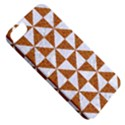 TRIANGLE1 WHITE MARBLE & RUSTED METAL Apple iPhone 5 Classic Hardshell Case View5