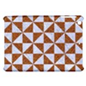 TRIANGLE1 WHITE MARBLE & RUSTED METAL Apple iPad Mini Hardshell Case View1