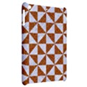 TRIANGLE1 WHITE MARBLE & RUSTED METAL Apple iPad Mini Hardshell Case View2
