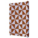 TRIANGLE1 WHITE MARBLE & RUSTED METAL Apple iPad Mini Hardshell Case View3
