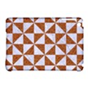 TRIANGLE1 WHITE MARBLE & RUSTED METAL Apple iPad Mini Hardshell Case (Compatible with Smart Cover) View1